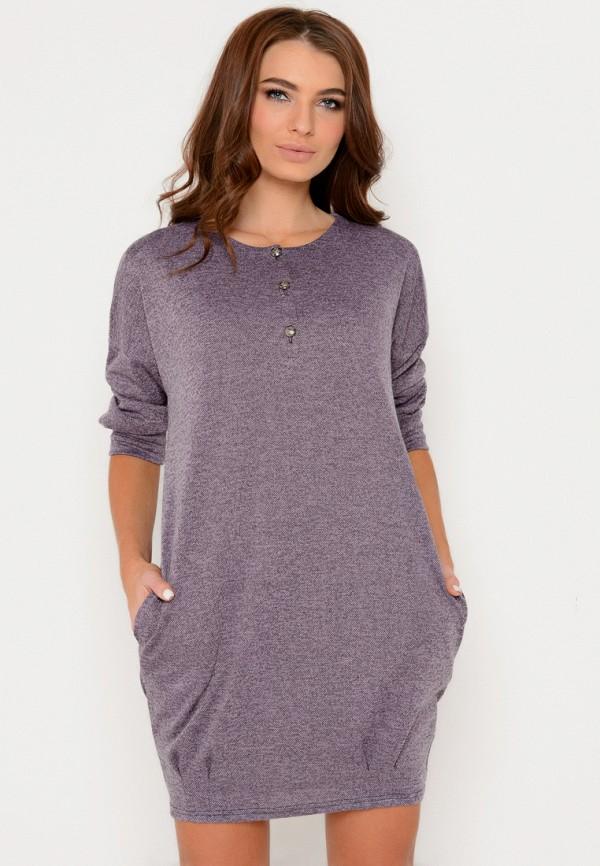 Платье Irma Dressy Irma Dressy MP002XW00MHO pink perkins collar knitted thin jumper