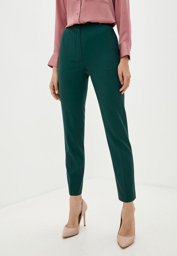 женские классические брюки la biali, зеленые
