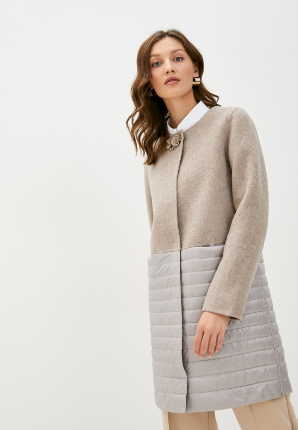 женское пальто la biali, бежевое