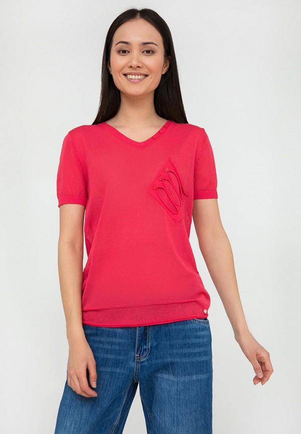 Пуловер Finn Flare розового цвета
