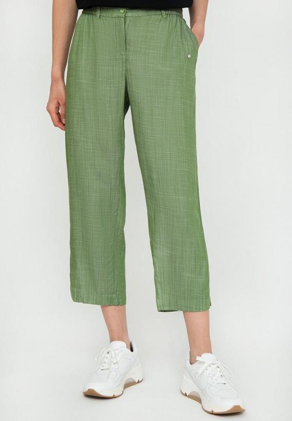 Брюки Finn Flare зеленого цвета