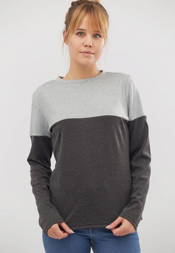 женский свитшот criss, серый