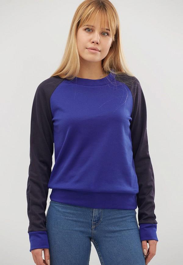 женский свитшот criss, синий