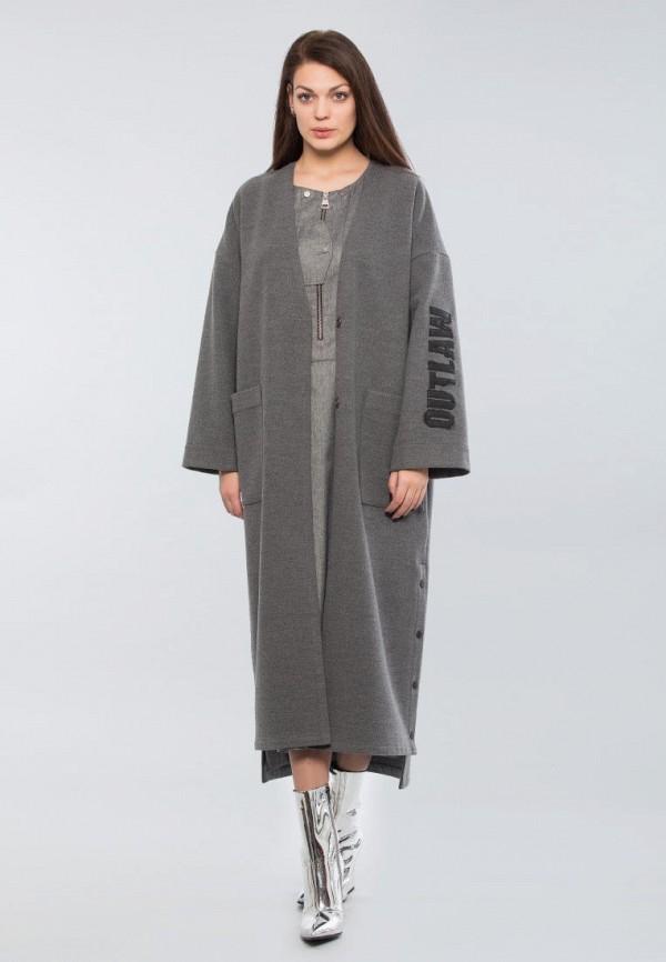 женское пальто maxa, серое
