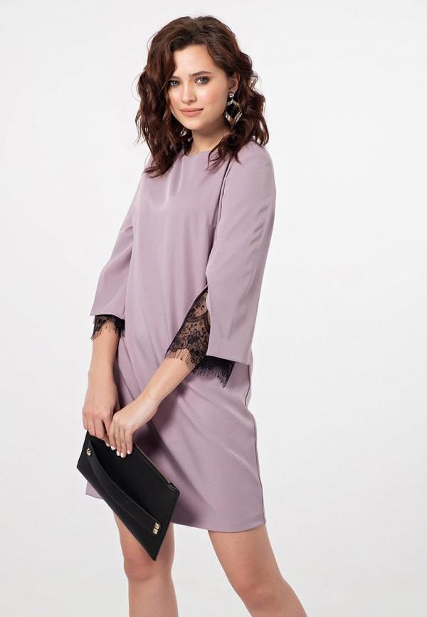 женское повседневные платье fly, фиолетовое