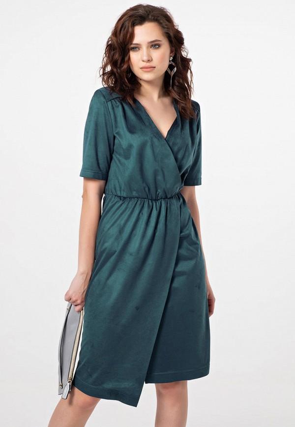 женское платье fly, зеленое