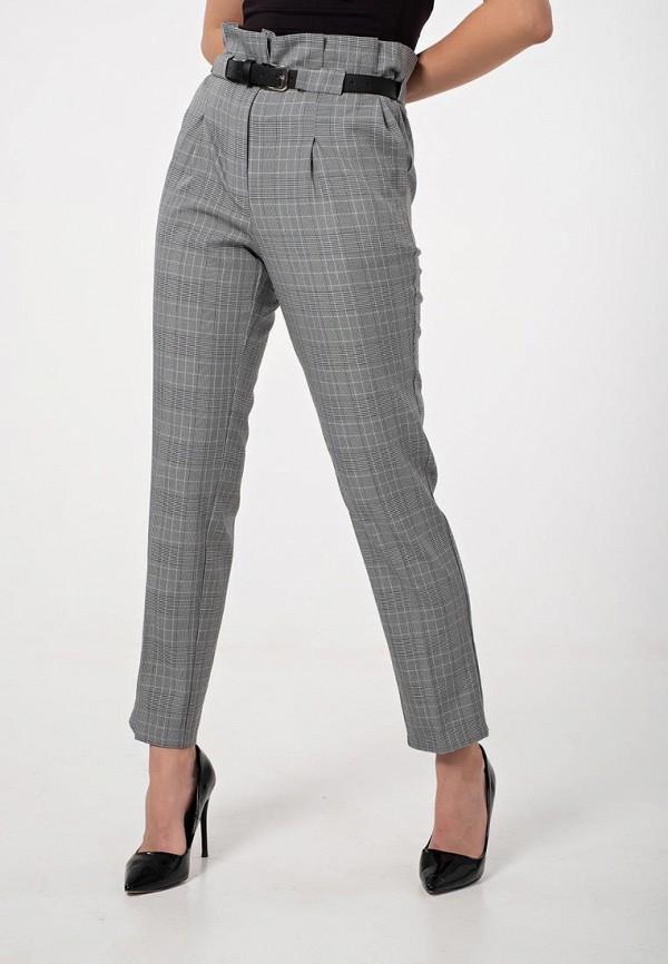 женские классические брюки fly, серые