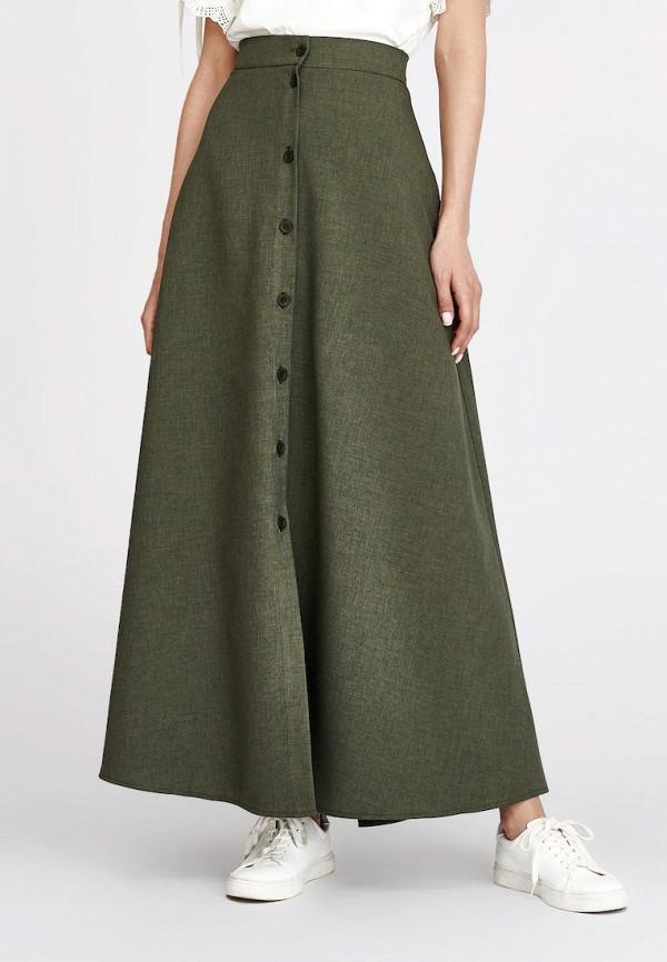 женская юбка alina assi, зеленая