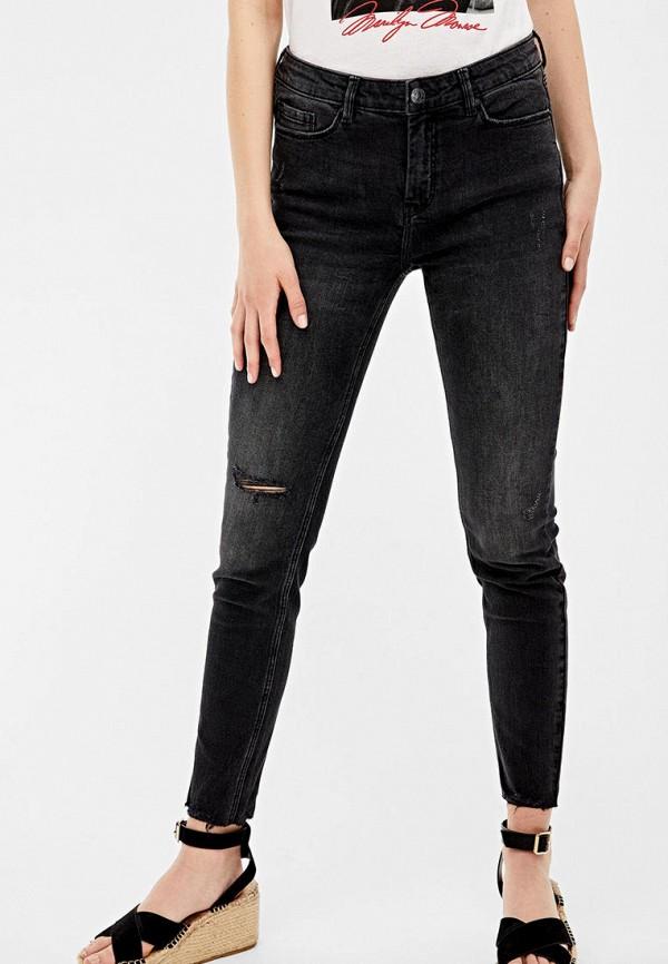 женские джинсы springfield, черные
