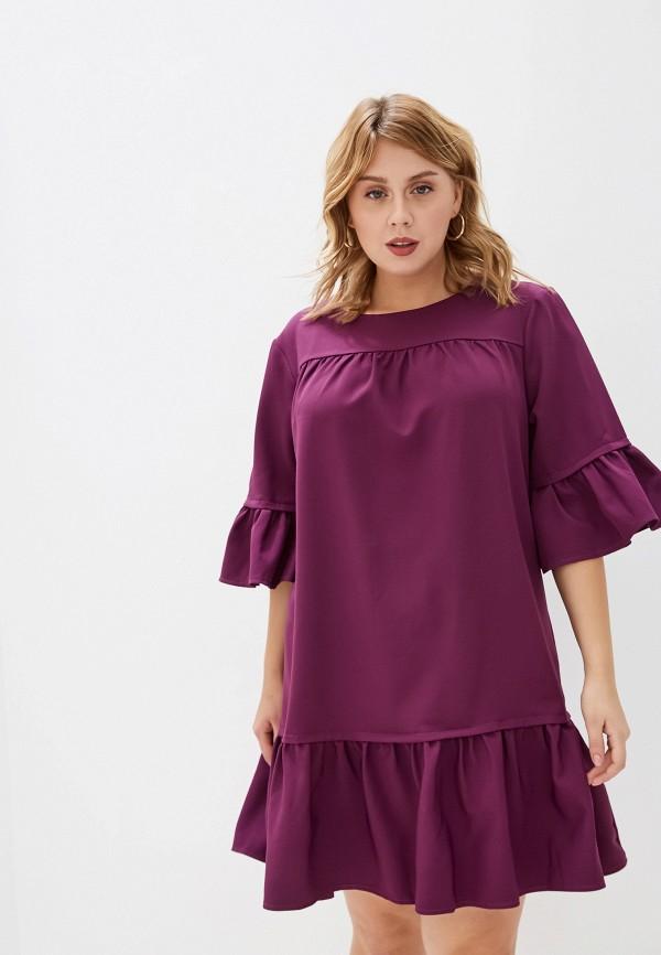 женское платье jp, фиолетовое
