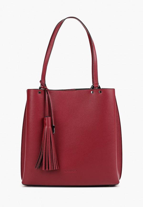 женская сумка eleganzza, бордовая
