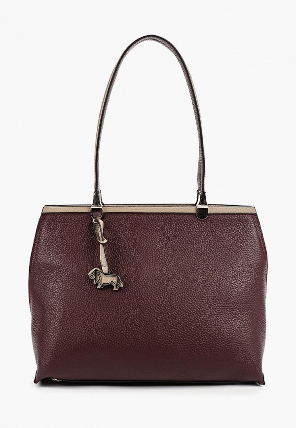женская сумка labbra, бордовая
