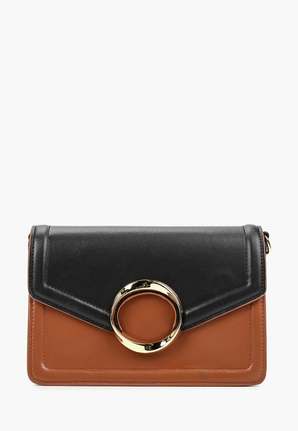 женская сумка через плечо labbra, коричневая