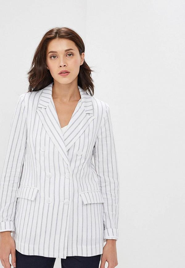 женский пиджак baon, белый