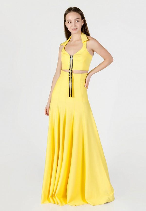 женский костюм kriza, желтый