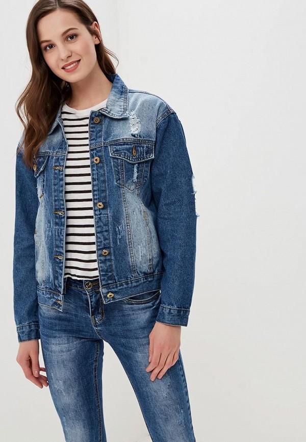 Куртка джинсовая Elardis Elardis MP002XW01IZK юбка джинсовая elardis elardis mp002xw01izm