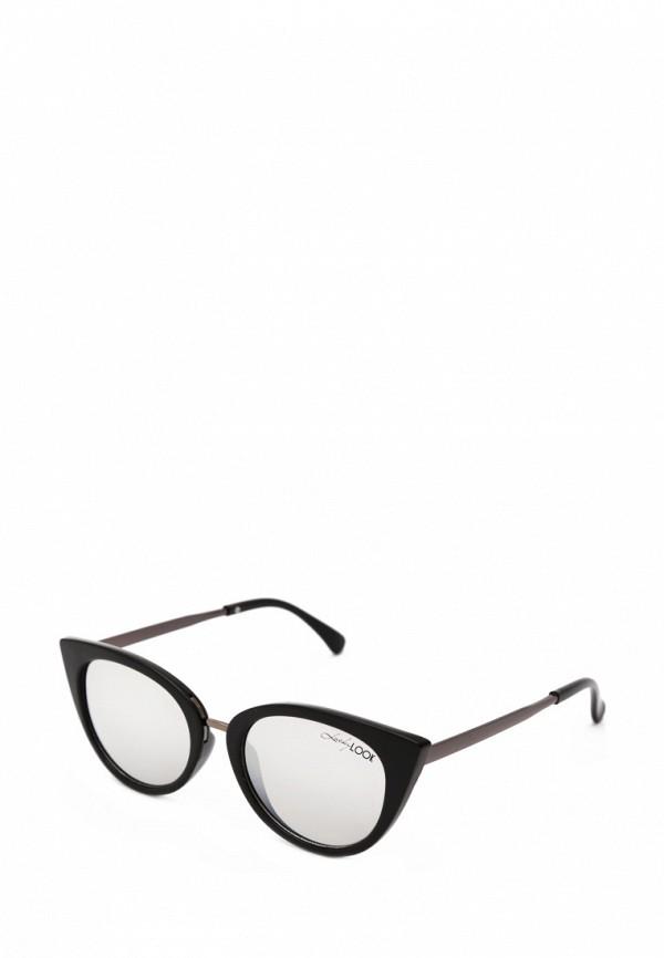 женские солнцезащитные очки luckylook, черные