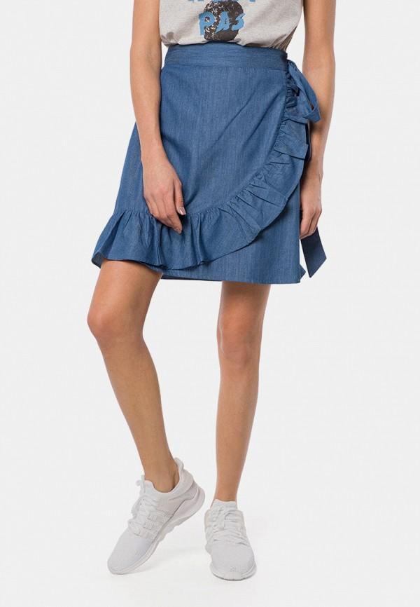 женская юбка mr520, синяя