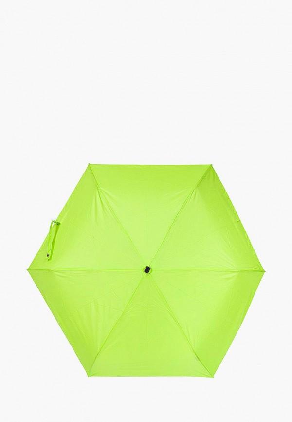 женский складные зонт labbra, зеленый