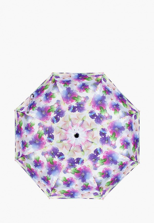 женский складные зонт labbra, разноцветный