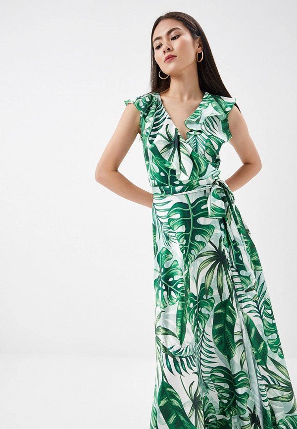 Фото 2 - Платье Lezzarine зеленого цвета