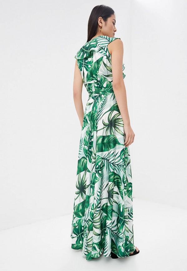 Фото 3 - Платье Lezzarine зеленого цвета