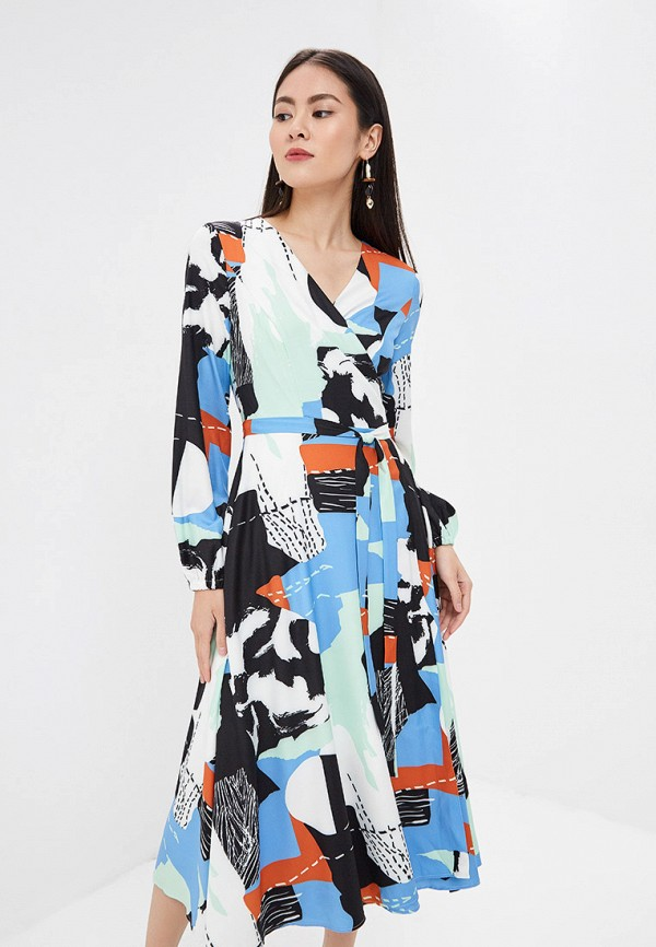 Фото - Платье Lezzarine разноцветного цвета