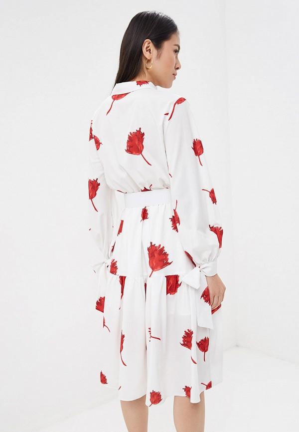 Фото 3 - Платье Lezzarine белого цвета
