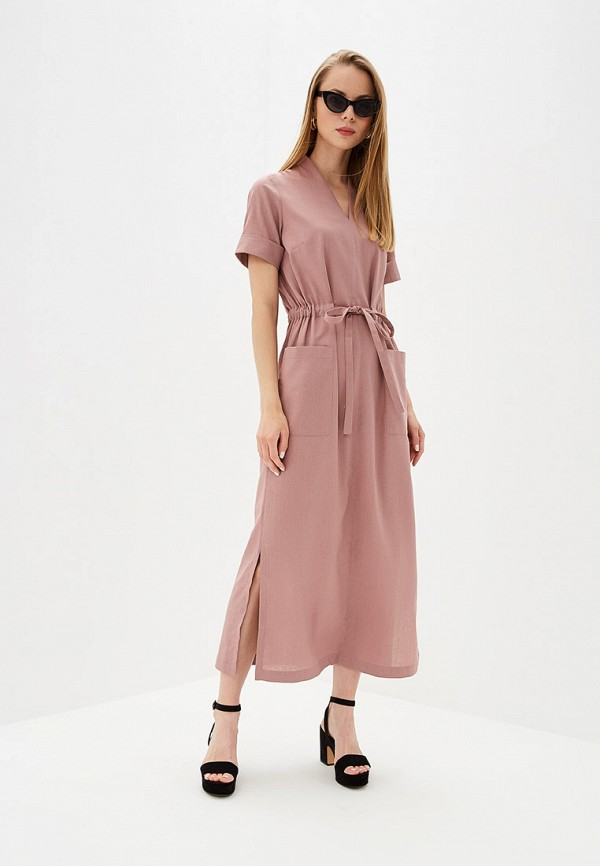 Фото - Женское платье Eliseeva Olesya розового цвета