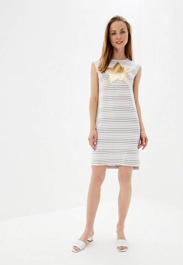 Платье Eliseeva Olesya цвет бежевый  Фото 2