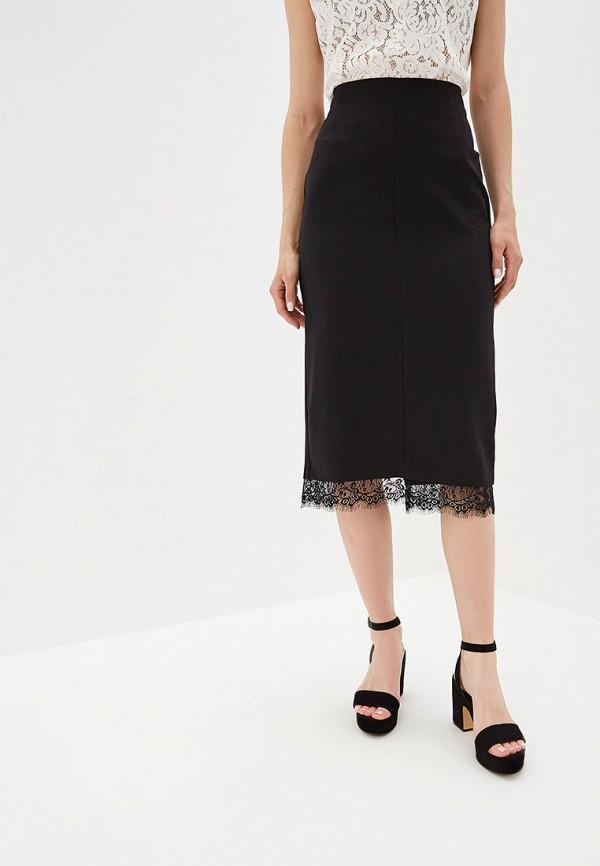 Фото - Женскую юбку Eliseeva Olesya черного цвета