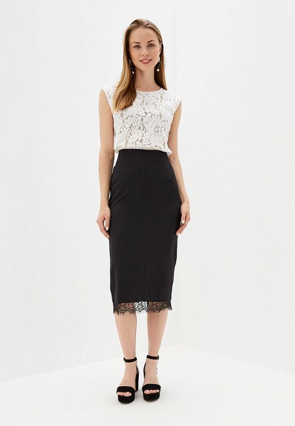 Фото 2 - Женскую юбку Eliseeva Olesya черного цвета