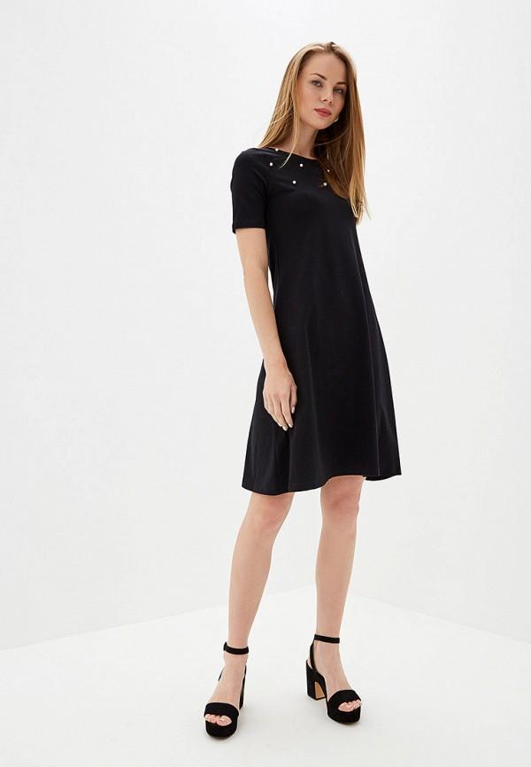 Фото 2 - Женское платье Eliseeva Olesya черного цвета