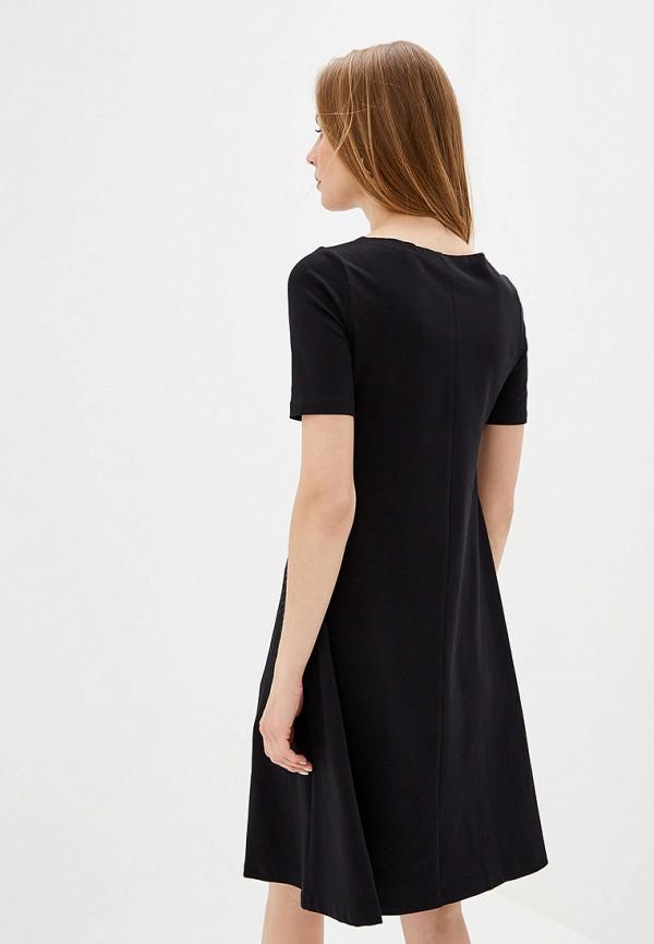 Фото 3 - Женское платье Eliseeva Olesya черного цвета