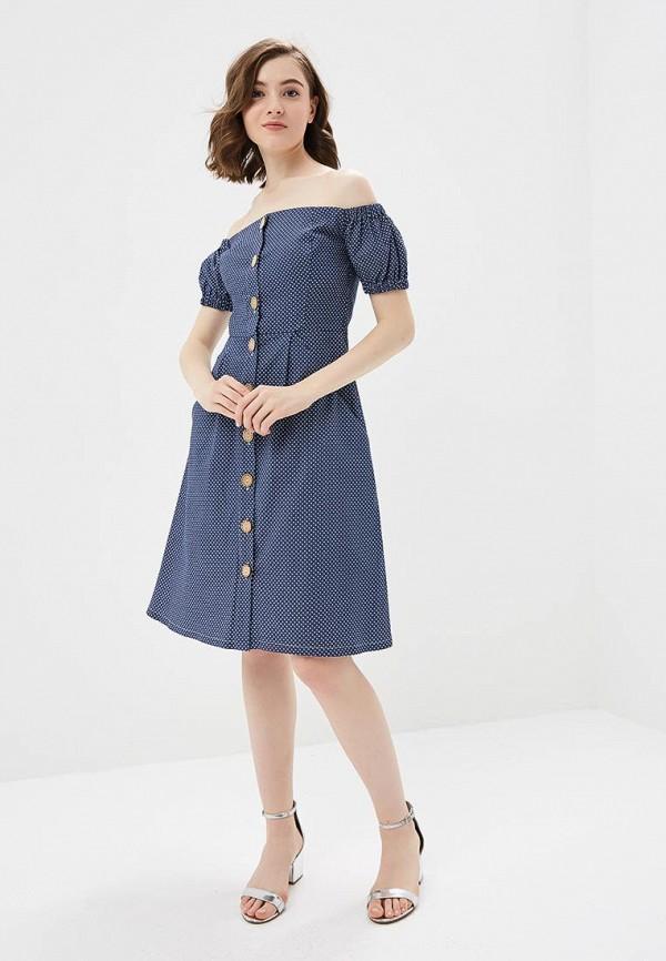 Платье M,a,k you are beautiful цвет синий  Фото 2