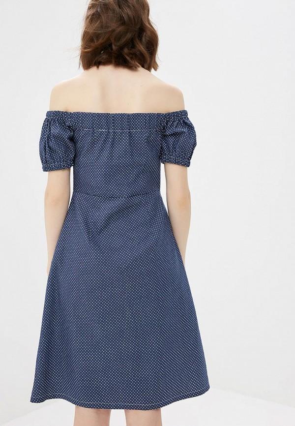 Платье M,a,k you are beautiful цвет синий  Фото 3