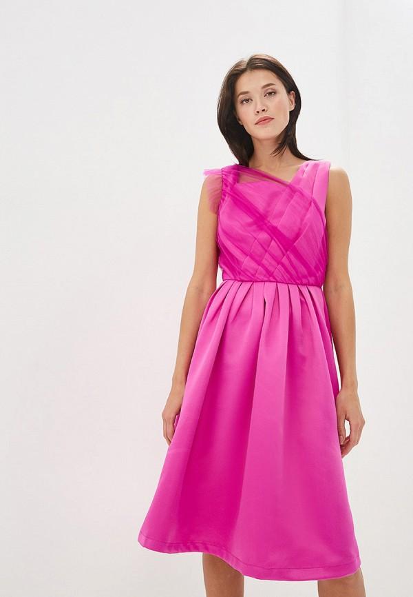 Платье Cavo Cavo MP002XW01QAW полуприлегающее платье с длинным поясом cavo