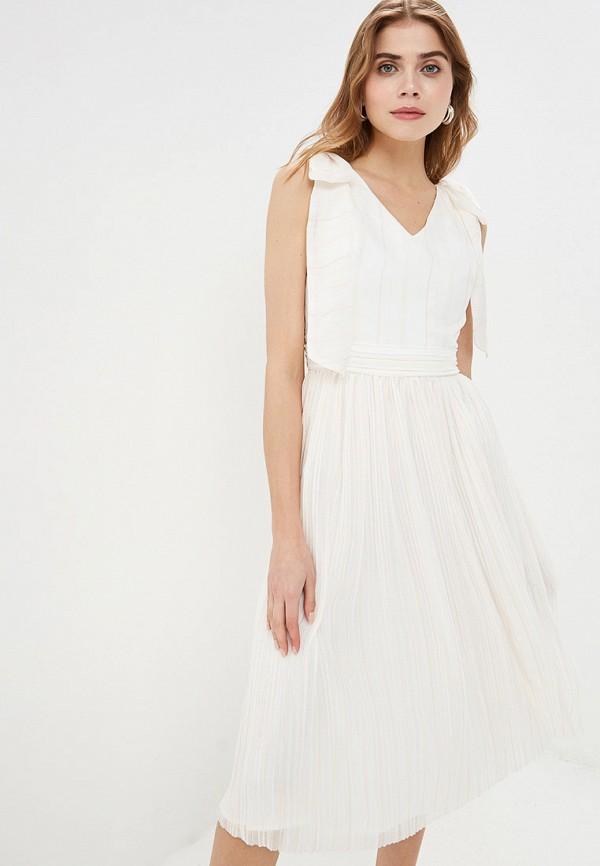 Платье Cavo Cavo MP002XW01QAY полуприлегающее платье с длинным поясом cavo