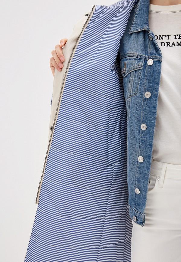Куртка утепленная Dixi-Coat цвет бежевый  Фото 4