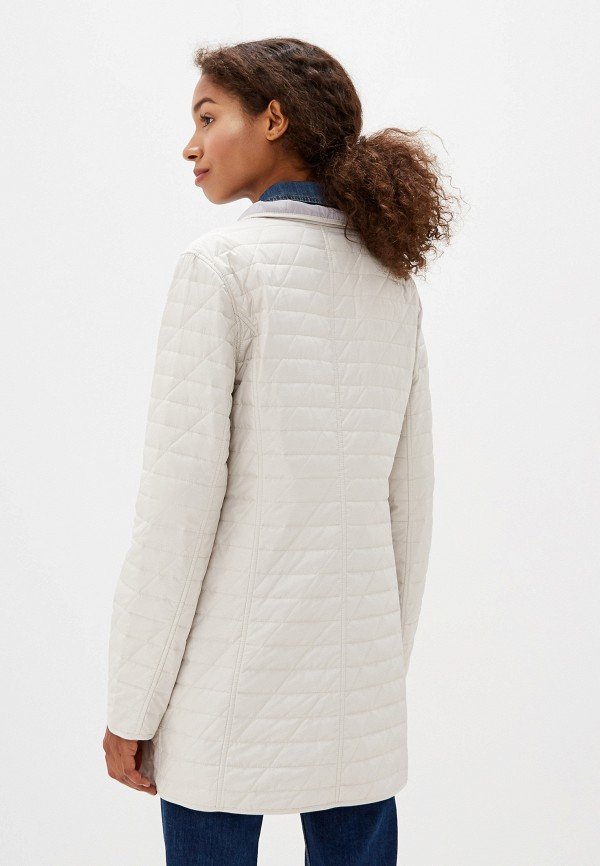 Куртка утепленная Dixi-Coat цвет бежевый  Фото 3