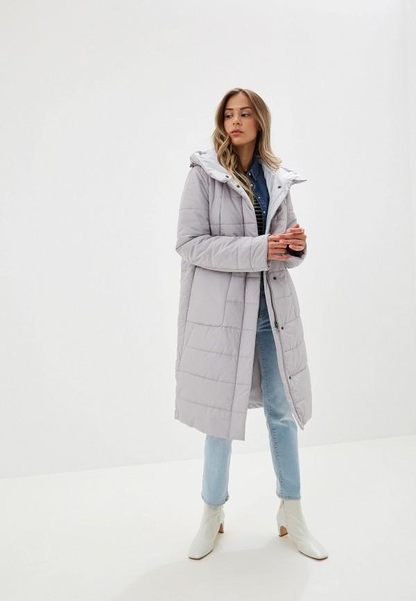 Куртка утепленная Dixi-Coat цвет серый  Фото 2