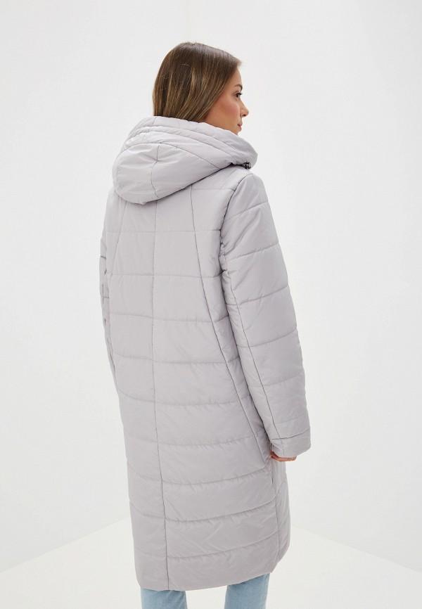 Куртка утепленная Dixi-Coat цвет серый  Фото 3