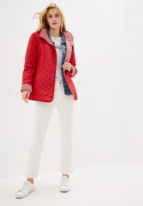 Куртка утепленная Dixi-Coat цвет красный  Фото 3