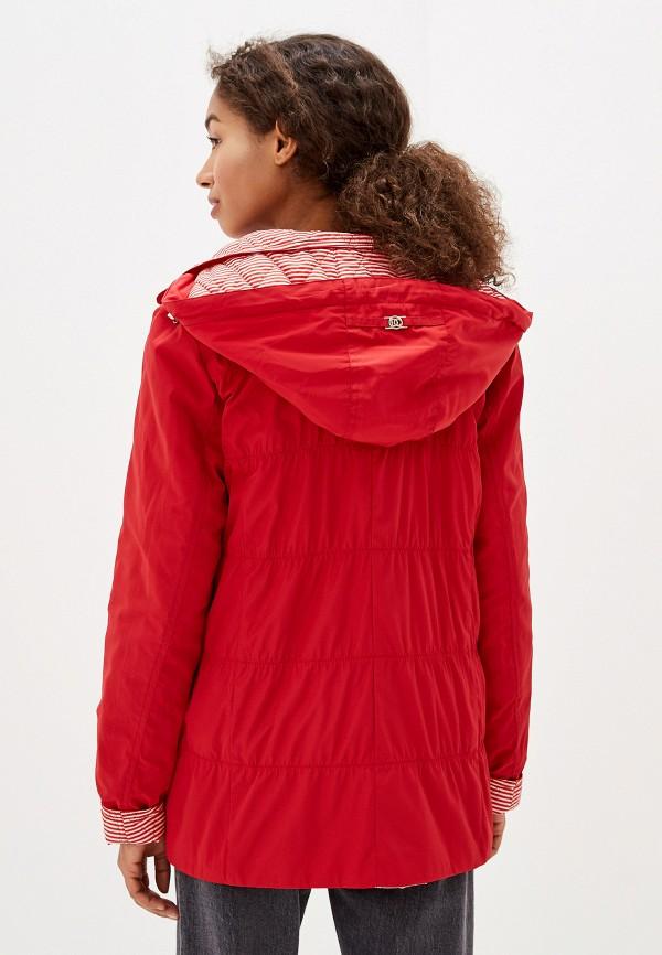 Куртка утепленная Dixi-Coat цвет красный  Фото 4