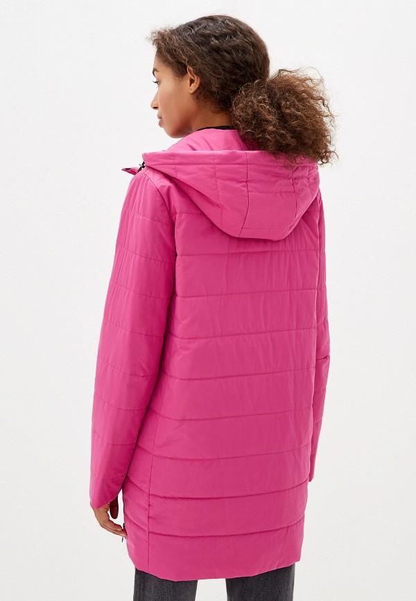Куртка утепленная Dixi-Coat цвет розовый  Фото 3