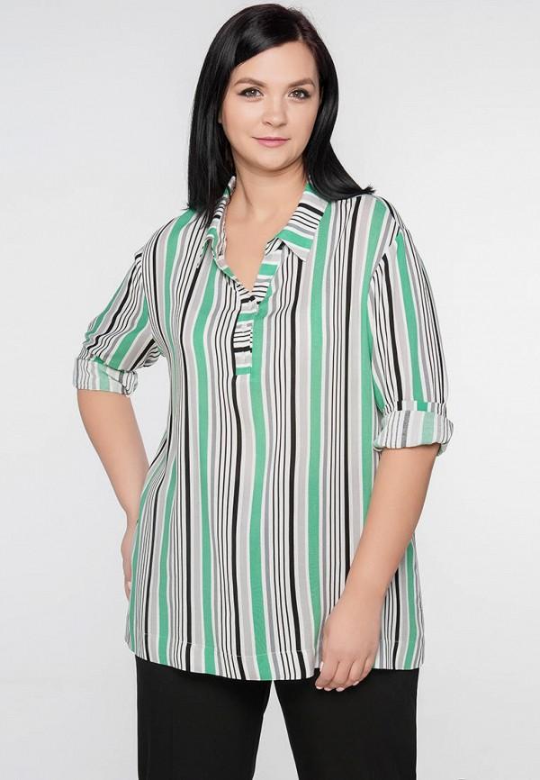 Блуза Limonti цвет разноцветный