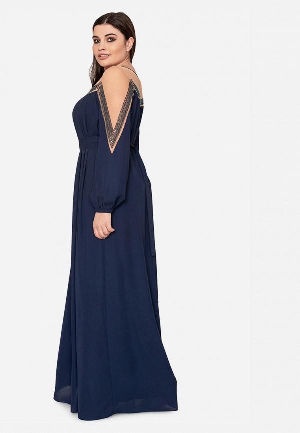 Платье Seam цвет синий  Фото 4