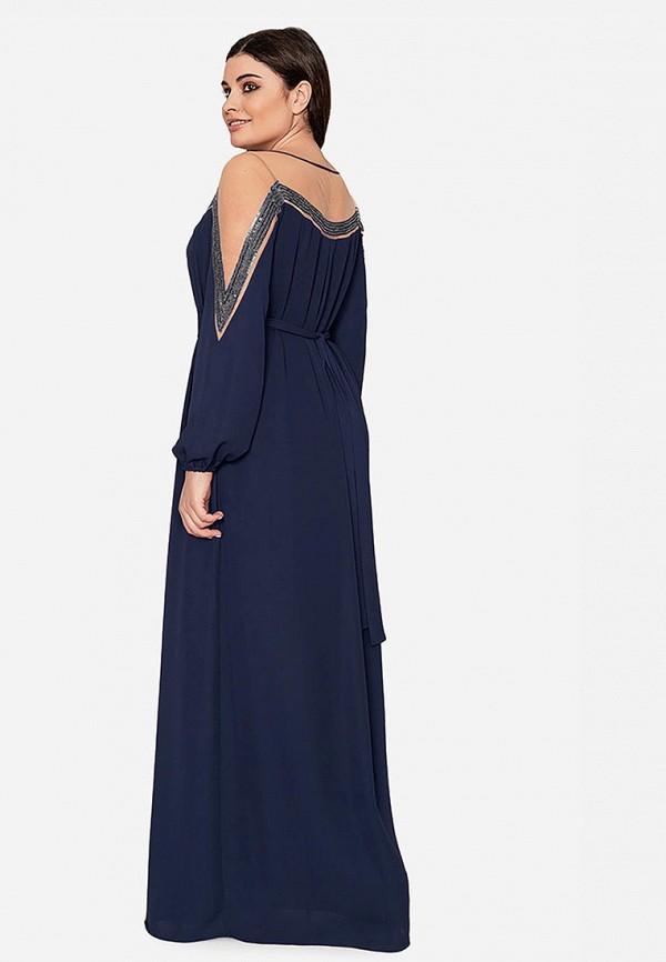 Платье Seam цвет синий  Фото 3