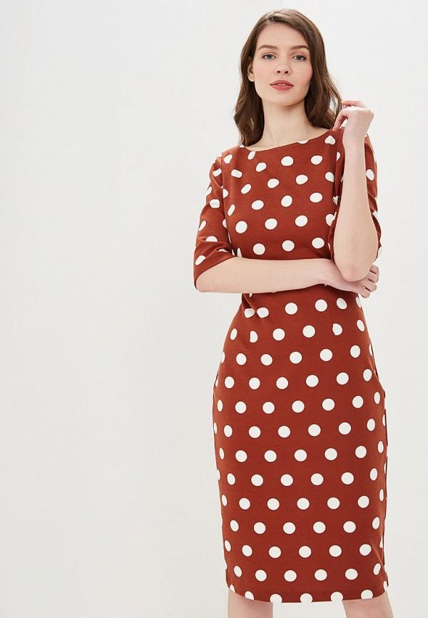Фото - Женское платье Valkiria коричневого цвета