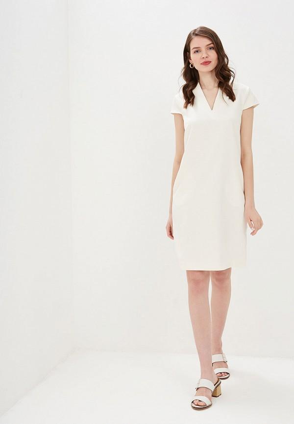 Фото 2 - Женское платье Valkiria белого цвета